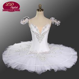 Women ballet costume online shopping - Professional Ballet Tutu White LD0005 Fairy of Tenderness Adult Costume Tutu Wowen Professional Ballet Tutu Kid
