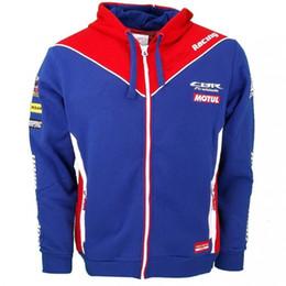 Envío gratis 2016 Marc Marquez 93 Para Honda Racing Endurance World Championship Hooded Sports Sudaderas con capucha de color rojo