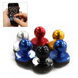 small screen cell phones 2019 - Black Small Size Stick Game Joystick Joypad For Touch Screen Cell phone Best Selling Mini Joystick discount small screen