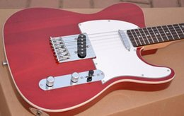 $enCountryForm.capitalKeyWord Canada - Custom Limited Deluxe Tele Caster Red Crimson Electric Guitar White Pickguard Maple Neck Rosewood Fingerboard White MOP Dot Inlay