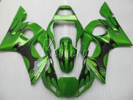 $enCountryForm.capitalKeyWord Canada - High quality ABS plastic fairings for Yamaha YZR R6 98 99 00 01 02 green black fairing kit YZF R6 1998-2002 HT43