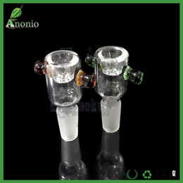 Discount snowflake screen - 5pieces per lot Glass Heady Filter Bowl With Honeycomb Screen Snowflake Male 14mm 18mm Glass Bowl Ash Catcher Bowl for G