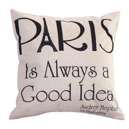 discount home goods pillows wholesale linen pillow case paris is always a good idea leaning