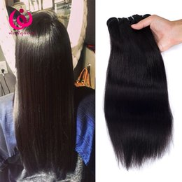 Sheds Prices NZ - Indian Straight Hair Weave Bundles 4pcs lot 8-28inch Wow Queen Hair No Shedding No tangle Cheap Whoelsale Price Indian Virgin Hair