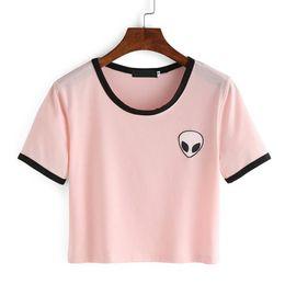 8b9c44d7f9793 T-shirt Graphique Féminin Distributeurs en gros en ligne, T-shirt ...