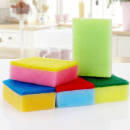 magic clean Canada - 10PCS Colorful Magic Sponge Eraser Melamine Cleaner Multi-Functional Cleaning Nano Sponge Dish Kitchen Clean Tools C2