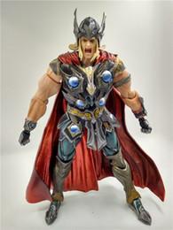 $enCountryForm.capitalKeyWord Australia - LilyToyFirm Hot Marvel Universe Variant Play Arts Kai Action Figure Thor 27cm PVC Collectibles Model Toys