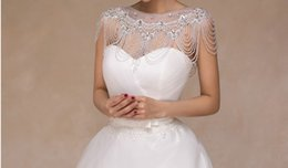 $enCountryForm.capitalKeyWord Canada - 2017 hit new high quality European and American popular Korean women a word shoulder shoulder chain necklace bride lace long thin wedding sh