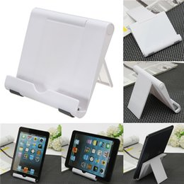 Stand Holder Support For Tablets NZ - 1PC White Portable Adjust Angle Stand Holder Support Bracket Mount For Tablet for ipad Phone for Galaxy