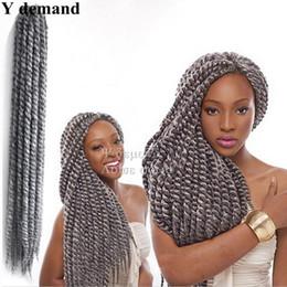 "$enCountryForm.capitalKeyWord NZ - Discount Havana Mambo Twist Crochet Braid Hair 22"" 125G Pack Synthetic Braiding Hair Freetress Crochet Braids Hairstyles"