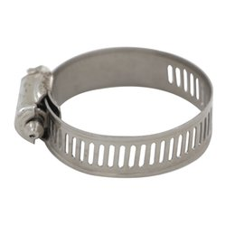 tube pipe clamps Canada - 10pcs Stainless Steel Hose Clamps Pipe Clamp Air Water Tube Clips Fit House Size 16-56mm