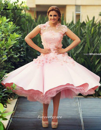$enCountryForm.capitalKeyWord Canada - 2019 Light Pink Cocktail Dress New Arrival Applique Short Event Gown Homecoming Party Dress Plus Size