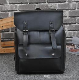 Engagement & Wedding Crazy Horse Leather Single Shoulder Package Outdoor Sport Small Bag Leisure Restore Satchel Men Handbag Boy Student Creative Bag