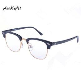 59fcf093f90 AOOKONI AK5154 Eyeglasses Frame Women Men Computer Optical Glasses  Spectacle Frame For Women s Male Transparent Female Armacao Oculos de