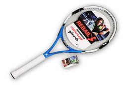 Mesh Fiber Canada - Tennis racket all-in-one professional gold wire mesh NDL-02 enhanced professional training tennis racket game tennis racket