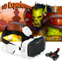 Virtual Games Canada - Wholesale- hot!2016 Newest Original BOBOVR Z4 3D Glasses VR Virtual Reality Headset 3D Video Game Private Theater with Headphone+Controller