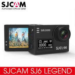 "24fps Camera NZ - Original SJCAM SJ6 LEGEND 4K 24fps Ultra HD Notavek 96660 Waterproof Action Camera 2.0"" Touch Screen Remote Sports DV"