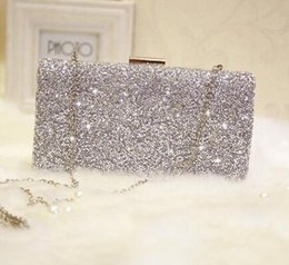 Pieces Clutch Canada - sales branded bag exquisite beautiful woman holding piece of leather bags light chain bag of high-quality diamond dinner party dress bag