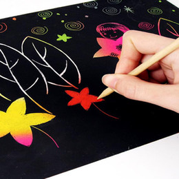 paper type a online paper type a for new type non toxic handmade diy picture scratch art paper a4 paint by kids and adults 10 pieces per set
