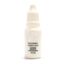 $enCountryForm.capitalKeyWord UK - Wholesale- Corrector Color Professional Tattoo Ink Microblading Permanent Makeup Micro Eyebrow Lip Eyeliner Pigment 1 2 oz 15ML White 3PCS