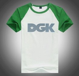 dgk shirts UK - U2877294# free shipping s-5xl fashion T shirt o-neck Breathable high-elastic cotton men short sleeve DGK Quick Dry