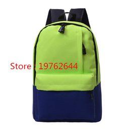 $enCountryForm.capitalKeyWord Australia - NEW Arrival - Preppy Style Students School Bag Casual Travel Backpacks, 10 Colors Nylon Girls Shoulder Bags Fashion Two-tone Computer Bag