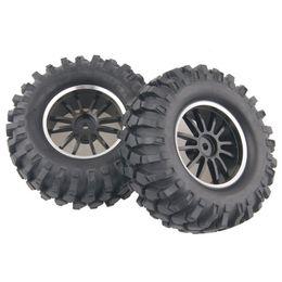$enCountryForm.capitalKeyWord UK - 4x Aluminum Wheel Rubber Tires Sponge Rim RC Climbing Car Racing 123HS-7006