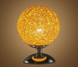 Cheap quality bedding online shopping - Home Decoration Modern Cheap Table Lamp Colorful LED Lighting for Gift High Quality Round Ball Shape Table Lamps