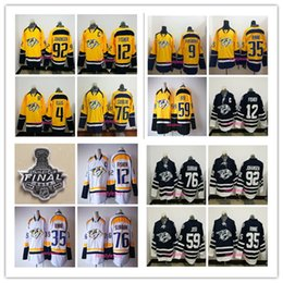 Wholesale 2017 Nashville Predators P K Subban Mike Fisher Ellis Forsberg Roman Josi Ryan Johansen Pekka Rinne Blue Hockey Jerseys