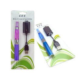 vaporizer pen clearomizer NZ - e cig eGo CE4 starter kit Single CE4 Blister Kits 650mah 900mah 1100mah EGO-T Battery CE4 Clearomizer Atomizer vaporizer vape pen DHL