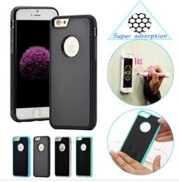 Vente en gros Anti-gravité magique Nano-adsorption Téléphone portable Coque Coque Arrière Pour Iphone 5SE 7 6 6S Plus Anti-chute