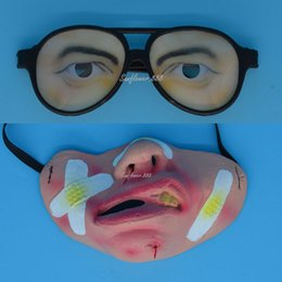 $enCountryForm.capitalKeyWord Canada - 2017 Men Boy Lady Fun Eyes Joke Glasses Eyes Disguise Horrible latex Masks Hallowmas Party Costume Gift Toy