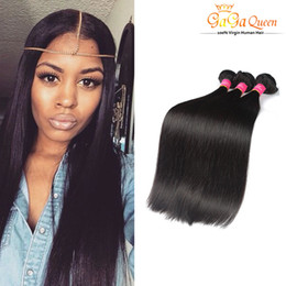 Grace hair products online shopping - Unprocessed A Brazillian Straight Beauty Grace Hair Products Cheap Bundles Brazilian Human Hair Weave Natural Color