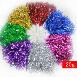 Poms flowers online shopping - Multicolor Ball Flower Portable Beautiful La La Ball Use For Cheer At The Party Or Match And Rendering Atmosphere xj F
