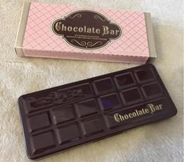 $enCountryForm.capitalKeyWord Canada - top quality hot selling brand Makeup Chocolate Bar Eyeshadow Palette 16 Color Eye Shadow plates dhl free shipping +gift