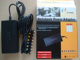 Discount notebook connectors - Hot Universal 96W AU EU UK US Laptop Notebook 15V-24V AC Charger Power Adapter with 8 Connectors