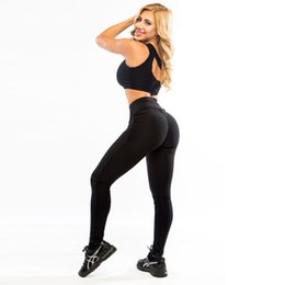 $enCountryForm.capitalKeyWord Canada - NEW Sexy Womens Fashion Sportswear Pants Elastic High Waist Solid Fitness Leggings Skinny Stretchy Full Length Workout Leggins