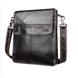 $enCountryForm.capitalKeyWord NZ - Mens Portrait Style Messenger bags First Layer Cowhide Genuine Leather Bags Business Casual Cross Body shoulder bag free shipping