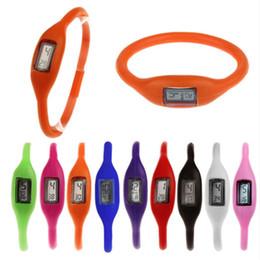 China Anion negative Wrist Bracelet Silicone Watch fashion Watches sports watch Men Women Rubber Jelly Ion Watch suppliers