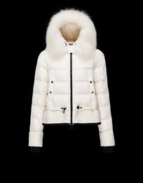 Wholesale down coats women xxl resale online - 2016 latest women down coats designer down hoodies wool hoodie long rib sleeves slim elegance casual down coats xs xxl