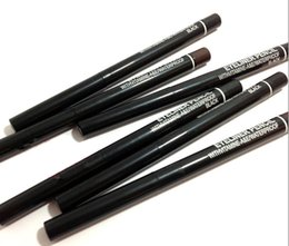 black eyeliner automatic Canada - New Makeup Eyeliner Pencil Automatic WITH VITAMINE WATERPROOF BLACK EYE-LINER 150pc