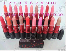 $enCountryForm.capitalKeyWord NZ - Free Gift!!!New nicki Lipstick 3g 20 colors English name