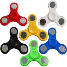 Discount price plastic toys - Funny Fidget Finger Toy Hand Spinner Anxiety Stress Relief Focus Toys Gift Fingertips in stock cheapest price