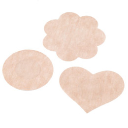 Sexy Nipple Patch UK - Free DHL Shipping 24,000pcs Womens Sexy Disposable Cubrepezon Nipple Cover Patch Breast Nipple Pad Petals Sin bra (10pcs=5pairs pack)