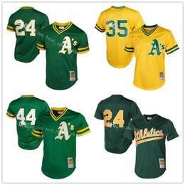69e3ca69 Mens Oakland Athletics Reggie Jackson Mitchell Ness Green Cooperstown Mesh  Batting Practice Jersey ...