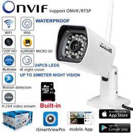 $enCountryForm.capitalKeyWord Canada - Waterproof 720P HD Security IP Camera Bullet Outdoor Wifi Camera Wireless Night Vision ONVIF P2P