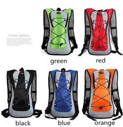 Fast Backpack Canada - 5L Outdoor Backpack Gear Hiking Camping Sport Cycling Bags Rucksack Trekking for Water Bag Multicolor Polyester 10 Pcs DHL Fast Shipping