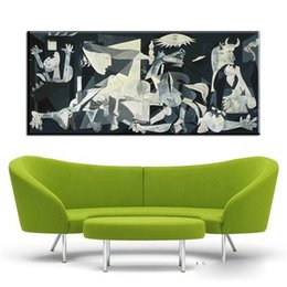 $enCountryForm.capitalKeyWord Australia - Spain France Picasso Classic Guernica 1937 Germany Figure Canvas Art Print Painting Poster, Wall Picture For Home Decoration