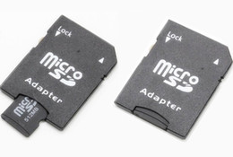 Chinese  Wholesale-SD card adapter TF MICRO SD SDHC TO SD CARD Adapter Can imprint your logo with some extre fee manufacturers