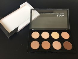 wholesalers nyx cosmetics 2018 - EPACK NYX Highlight Contour Pro Pattle Review Face Pressed Powder Foundation Grooming Shadow Powder Palette Makeup Cosme
